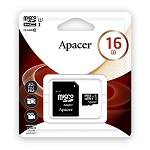 Apacer Micro UHS-I SDHC Class 10 Memory Card 16GB