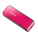 Apacer AH334 FlashDrive 16GB สีชมพู