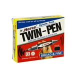 Horse Twin Tip Permanent Marker (12/Pack) Black