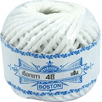 Boston White Twine 48 Strings 13 Yards